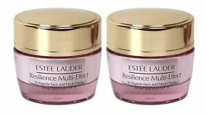 Lot 2 Estee Lauder Resilience Multi Effect Tri Peptide Face and Neck Creme 15ml