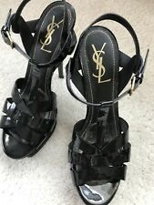 ysl Saint Lauren shoes 38(7.5), Tribute T-strap Platform Sandal