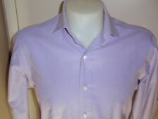 POLO RALPH LAUREN 100% Cotton Men's Shirt Size 16 Long Sleeve Collar NWOT