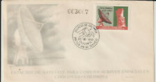 COLOMBIA - SATELLITE COMMUNICATIONS 1970 FIRST DAY COVER