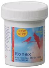 Morning Birds-RONEX- 1 OZ.- Treatment for cankers, giardia & other protozoal