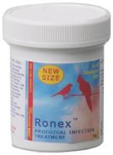 Morning Birds-RONEX- 1 OZ.- Treatment for cankers, giardia & other protozoal