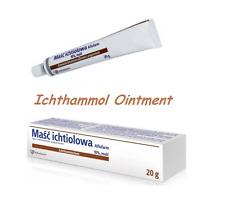 Ichthyol Ichthammol Ointment 10 Helps Purulent Skin Lesions