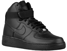 NIKE AIR FORCE 1 ONE HIGH '07 All Black 315121-032 Mens SHoes SZ 9.5