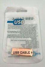 USB Flash Drive 1TB Storage Jump Drive Rose Gold New
