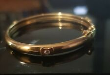 VINTAGE 9ct GOLD - BABY BANGLE - 3.6gms