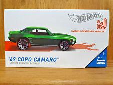 Hot Wheels ID 2020 Factory Fresh 02/04 '69 COPO Camaro in Spectraflame DK Green
