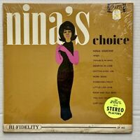 Nina Simone ‎– Nina's Choice (LP, 1963, Colpix Records CP 443, VG)