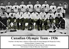 1936 CANADA OLYMPIC TEAM PHOTO 8X10