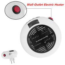 600W Wall-Outlet Electric Heater Fan Handy Air Warmer Blower Heater 110V - 250V
