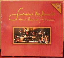 QUINLAN ROAD 2CDs: Loreena McKennitt - Live in Paris and Toronto - 1999, SEALED