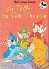LA BELLE AU BOIS DORMANT Club du livre mikey DISNEY HACHETTE