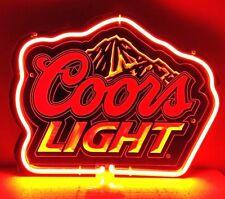 "SB347 Coors Light Beer Bar Pub night Display Neon Light Acrylic Sign 11""x8.5"""