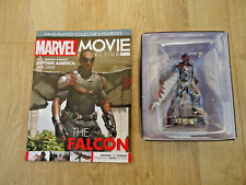 MARVEL MOVIE COLLECTION FALCON FIGURINE & MAGAZINE Eaglemoss NEW
