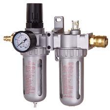 Druckluft Wartungseinheit Druckminderer Öler für Kompressor Schlagschrauber+SCHN