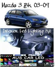 Mazda 3 BK 2003-2009 Bright White LED Interior Light Kit all colours available
