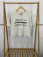 VTG Property Of Piedmont Air Athletic Department Cropped T-Shirt XL