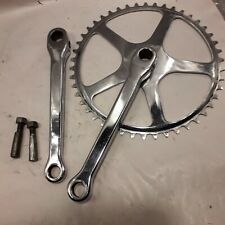 vintage 1965 Williams single cottered chainset 46T