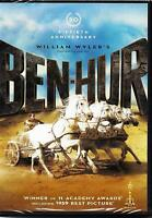 Ben-Hur Charlton Heston (DVD, 2011, 2-Disc Set, Fiftieth Anniversary) NEW