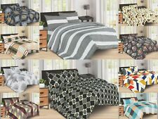 Duvet Cover Sets 4 Pc Designer Bedding Set Printed Collection With Pillowcases