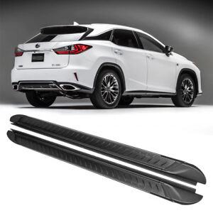 Fit For Lexus 16-18 RX350 RX450h 5D Aluminum Side Step Nerf Bar Running Board
