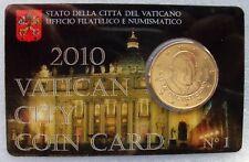 Vaticaan 50 cent 2010, coincard