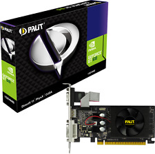 Palit GeForce GT 610 1GB PCI Express Grafik VGA/DVI/HDMI NEAT6100HD06-1196F