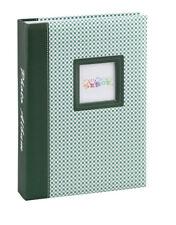 Elements álbum de fotografías en verde para 200 fotos en 13x18 cm embutir álbum de fotografías