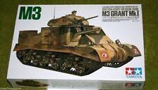 Tanque de Tamiya British Army medio M3 Grant MKI 1/35 escala 35041