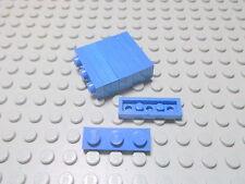 Lego 10 Platten 1x3 flach noppen zu blau  3623 Set 6363 6393 105 7838