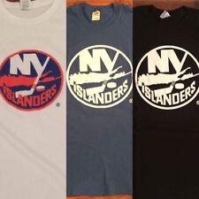 New York Islanders Logo T-Shirts NHL Barclays Center Nassau Coliseum