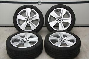 4x Original Seat Leon 5F FR ST 17 ZOLL Sommerräder 5F0601025B Dunlop TOP