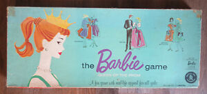 Vintage 1960 Mattel The Barbie Board Game Queen of the Prom Complete