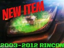03-12 Honda Rincon TRX 650 TRX 680  GREEN EYE'S Headlight Cover's  RUKINDCOVERS