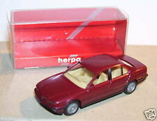 HERPA HO 1/87 BMW 740 I MARRON IN BOX
