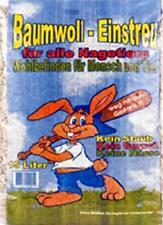 30 l Baumwolleinstreu, 0,33 EUR/kg, Meerschweine, Hasen, Nager, Mäuse