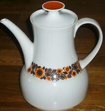 Kaffeekanne   + Deckel 1,2 L  Thomas  ROTUNDA  Blumen Vintage / Retro