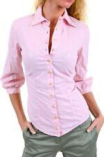 Camicia Donna Camicetta SEXY WOMAN A787 Maniche a 3/4 Rosa Tg S