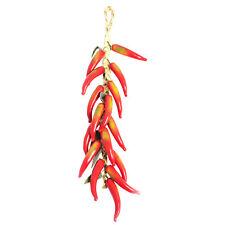 Artificiale Peperoncino Rosso Appeso 50 cm in Plastica Frutta finta aspetto realistico & Touch