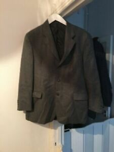 "Daniel Hechter Grey Wool Suit Jacket 42"" Chest (F17)"