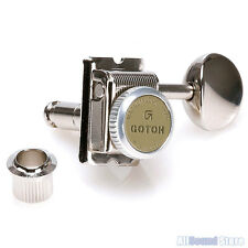 GOTOH SD91-MGT-05M Magnum Lock Trad Vintage Locking Tuners for Strat Tele NICKEL