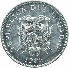 COIN / ECUADOR / 5 SUCRES 1988   UNC    #WT18180