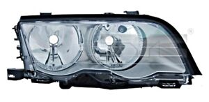 TYC Headlight Right Titanium For BMW E46 6908216