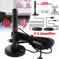 1080p 200 Mile Range Antenna TV Digital HD Skywire 4K Antena Digital Indoor HDTV