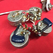VINTAGE 1974 USA FENDER TELECASTER CUSTOM or DELUXE GUITAR WIRING HARNESS 1975