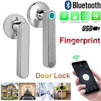 Home Door Handle Lock Keyless Biometric Fingerprint Password App Remote Control