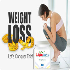 LIPOLOSS Weight Loss Natural Pills-Capsules -SLIMMING - DIET- EXTREME FAT LOSS-