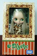 BLYTHE - CAPPUCCINO CHAT DOLL 2009 TAKARA TOMY WITH BRONZE HAIR AND OUTFIT