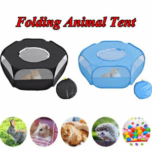 Pet Playpen Folding Small Animal Game Exercise Tent Hamster Rabbit Fence Cage☜