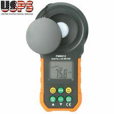 Illuminance Meter Light Digital Tester 0-200,000 LUX / FC Luxmeter Photometer